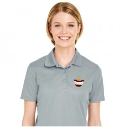 Burgundy Dri-FIT Ladies Polo
